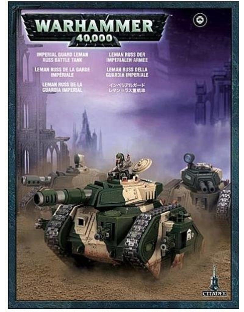Games Workshop Astra Militarum Leman Russ Battle Tank (REPACK)
