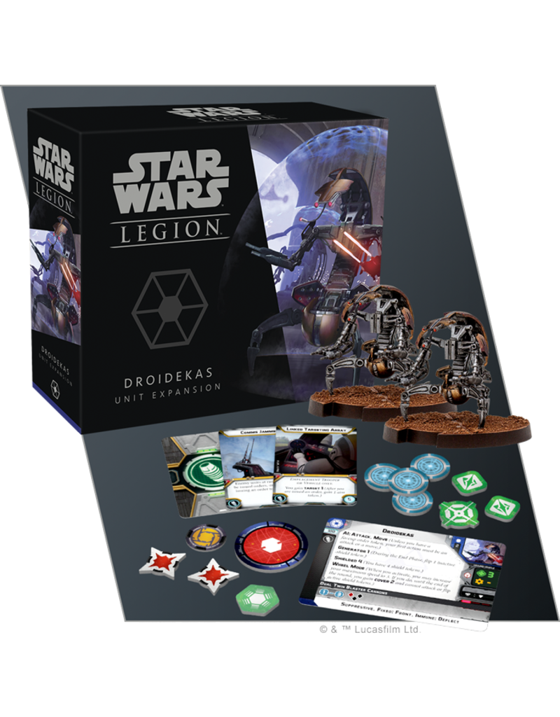 Fantasy Flight Games Star Wars Legion: Separatist Droidekas Unit Expansion