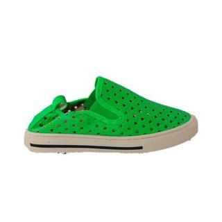 Leo stars kiwi green