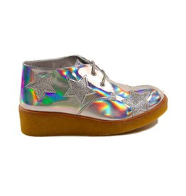 Stella McCartney Wendy wedge boots glit stars