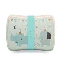 Petit Monkey Rhino & friends lunchboxes