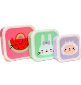 Petit Monkey watermelon lunchbox