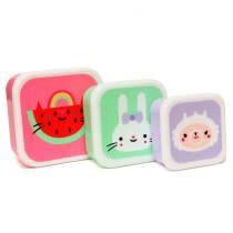 Petit Monkey Copy of forest friends lunchbox set