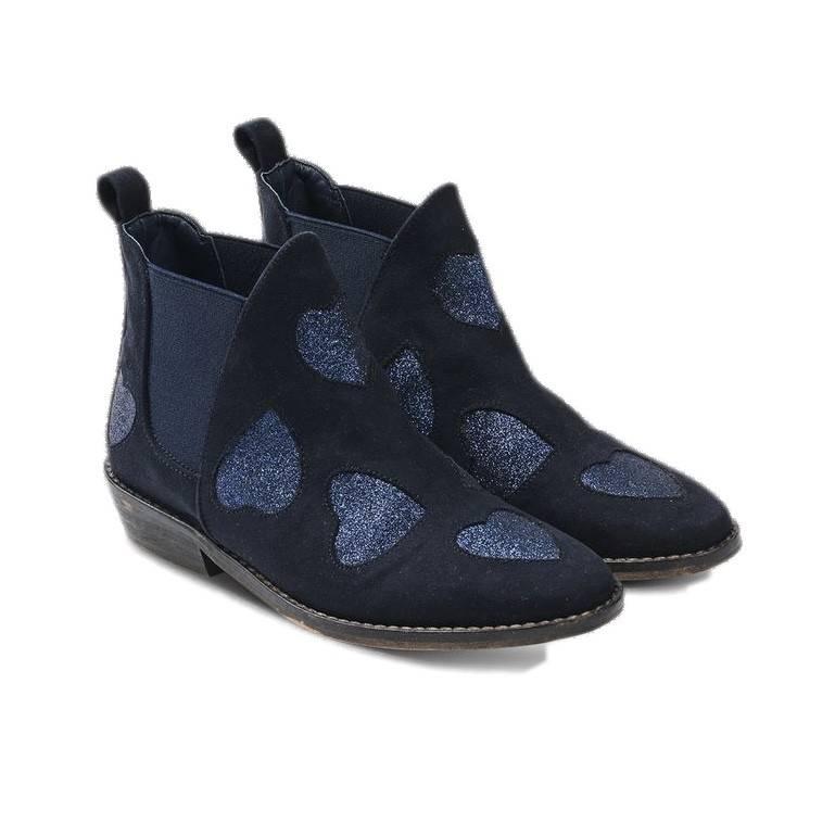 Stella McCartney Lilly Heart print boots