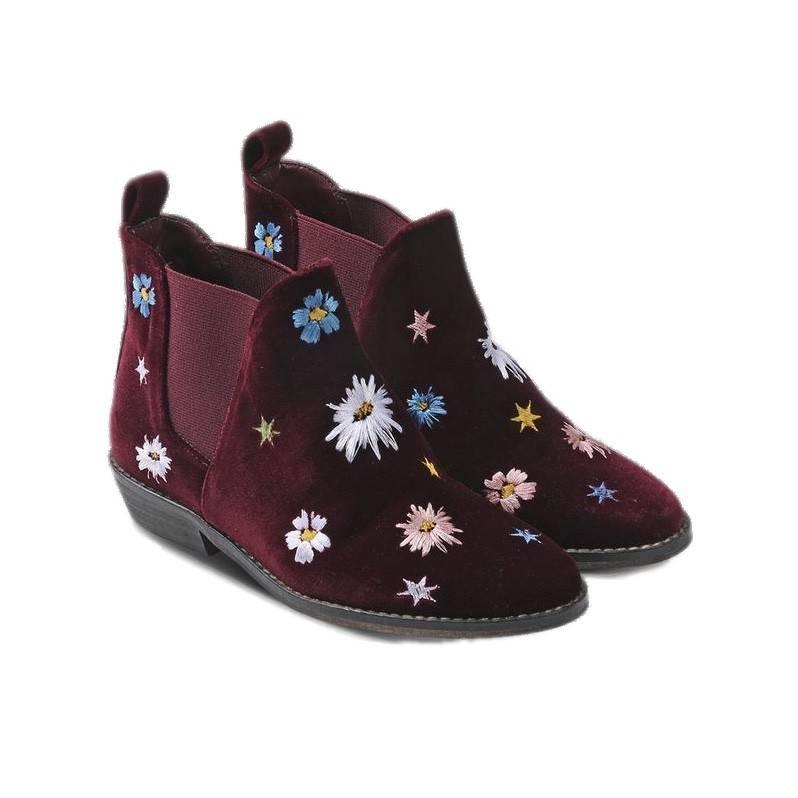 Stella McCartney Lily velvet flowers