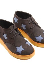 Stella McCartney Wendy wedge boots denim stars