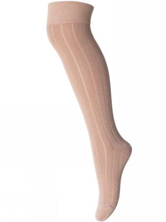 MP denmark Overknie kous roze glitter