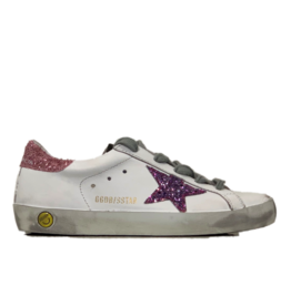 Golden goose superstar pink