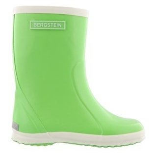 Rain boot lime green
