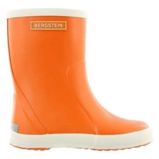 Rain boot orange