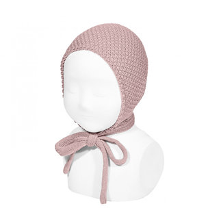 Bonnet pale pink