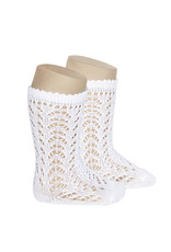 Cóndor 2.507/2 high openwork white