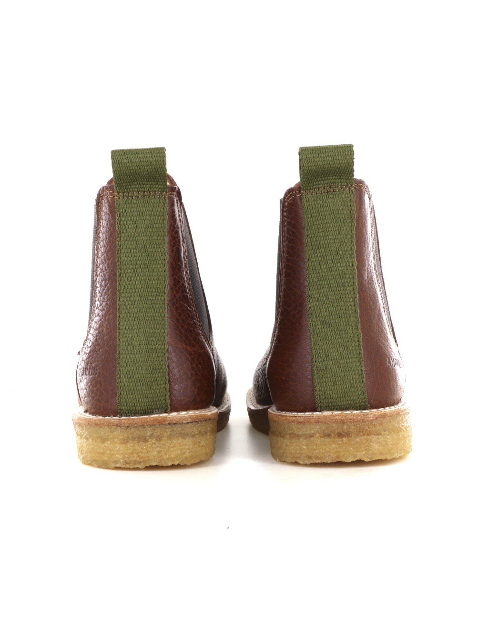 Angulus 2192 cognac green