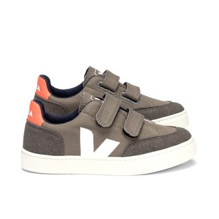 small V12 velcro canvas kaki