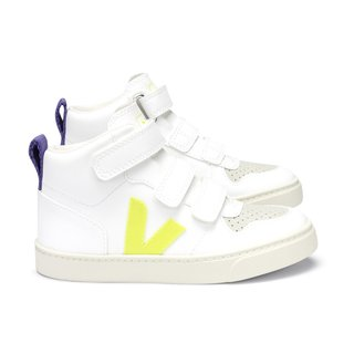 High V10 velcro yellow purple