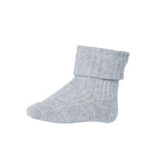 533 baby socks 491 grey Melange