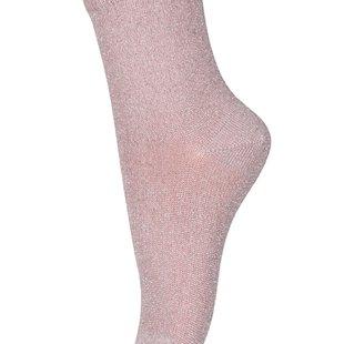 77192 glitter socks 870 rose grey