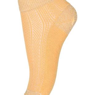 77198 sneaker socks 4098 Ochre