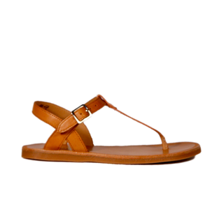 Plagetie  tong nude camel