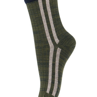 Kous stripe 79202 27 dusty ivy