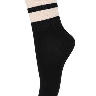 Kous stripe 79201 8 black