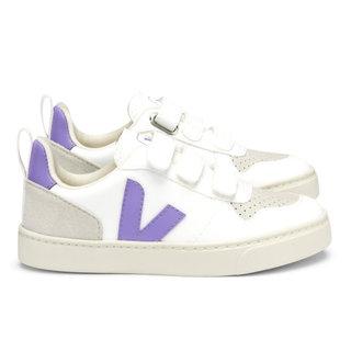 Small V10 velcro white lavender