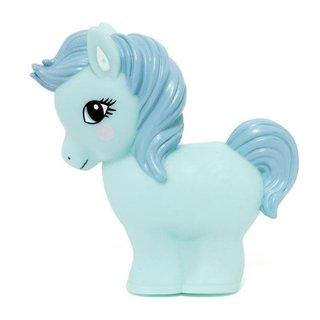 Horse night light light blue
