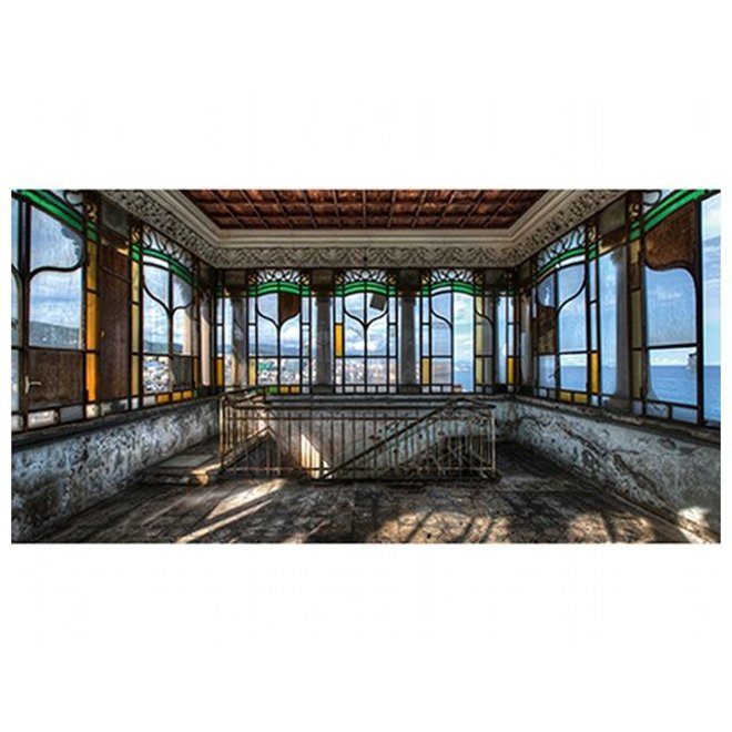 Alu Art Glas in lood 120x60