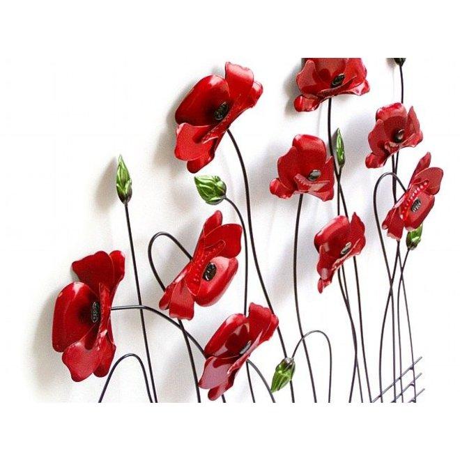 Wall Art Poppies