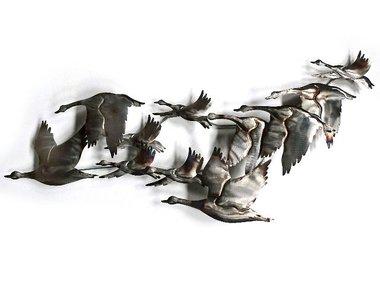 Sampaguita Wall Art Swans 100x38