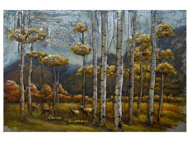 Metal Art  Forest 120x80