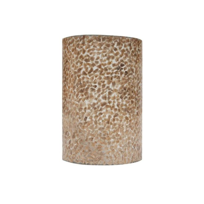 Villaflor schelpenlamp - Wangi Gold - wandlamp - Rectangle klein
