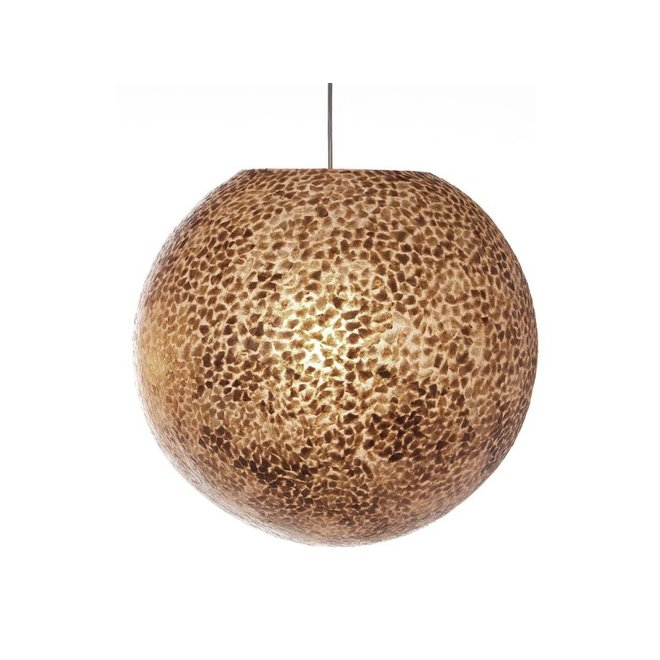 Schelpenlamp - Wangi Gold - Hangende bol - Ø 50 cm