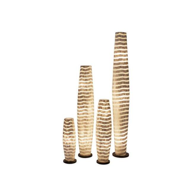 Villaflor schelpenlamp - Waves - vloerlamp - Apollo - 100 cm