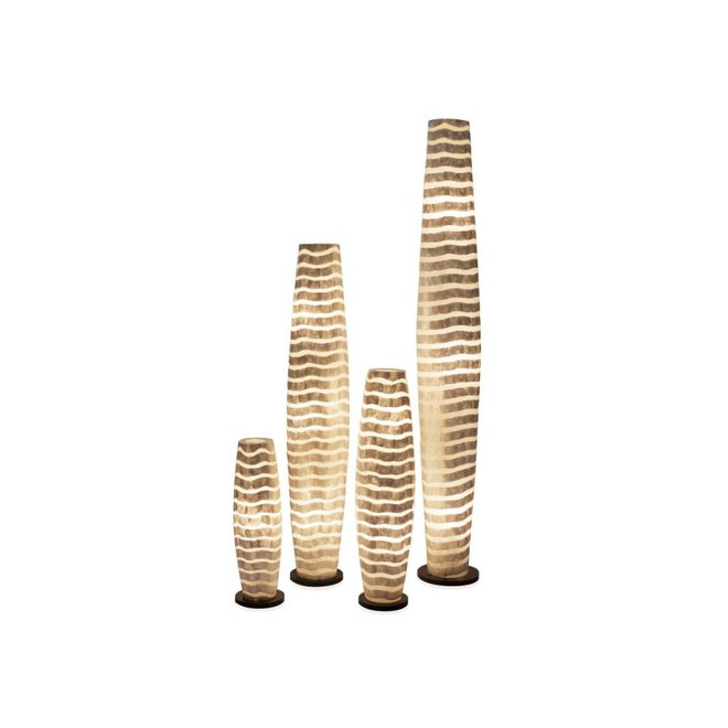 Villaflor schelpenlamp - Waves - vloerlamp - Apollo - 150 cm