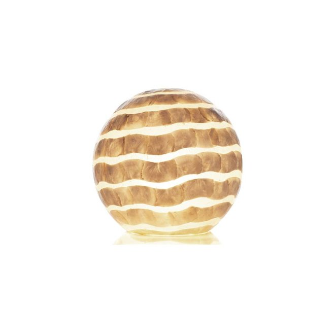 Villaflor schelpenlamp - Waves - tafellamp - Staande bol - Ø 40 cm