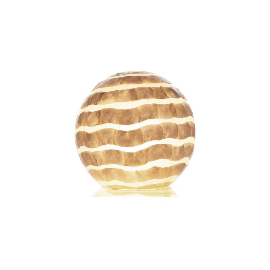 Waves - tafellamp - Staande bol - Ø 40 cm