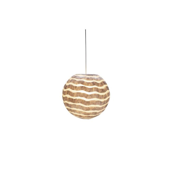 Schelpenlamp - Waves - Hangende bol - Ø 40 cm
