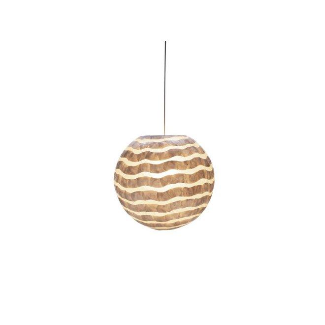 Schelpenlamp - Waves - Hangende bol - Ø 50 cm