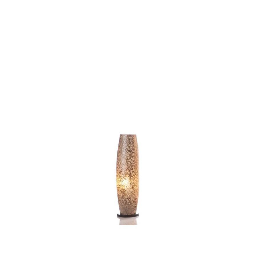 Villaflor Villaflor schelpenlamp - Wangi Gold - vloerlamp - Apollo 70 cm