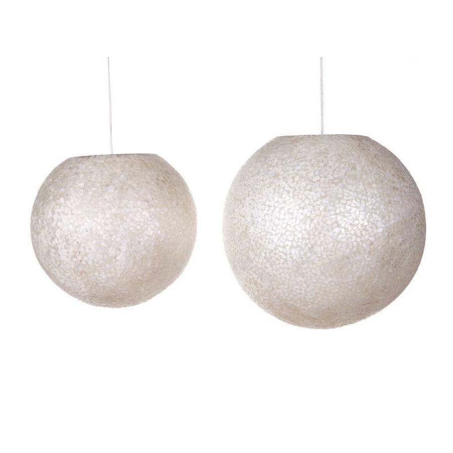 Wangi White - hanglamp - Hangende bol - Ø 50 cm