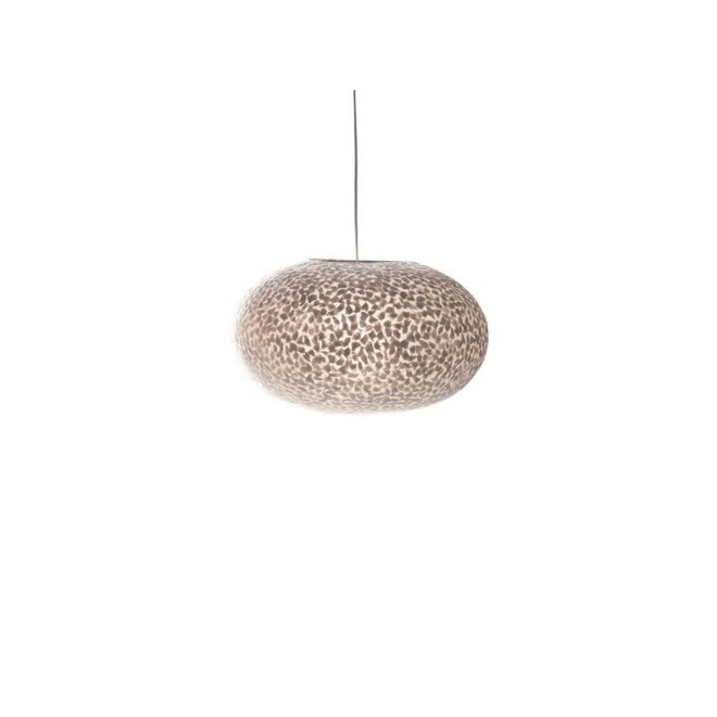 Schelpenlamp - Wangi White - Hangende UFO - Ø 40 cm