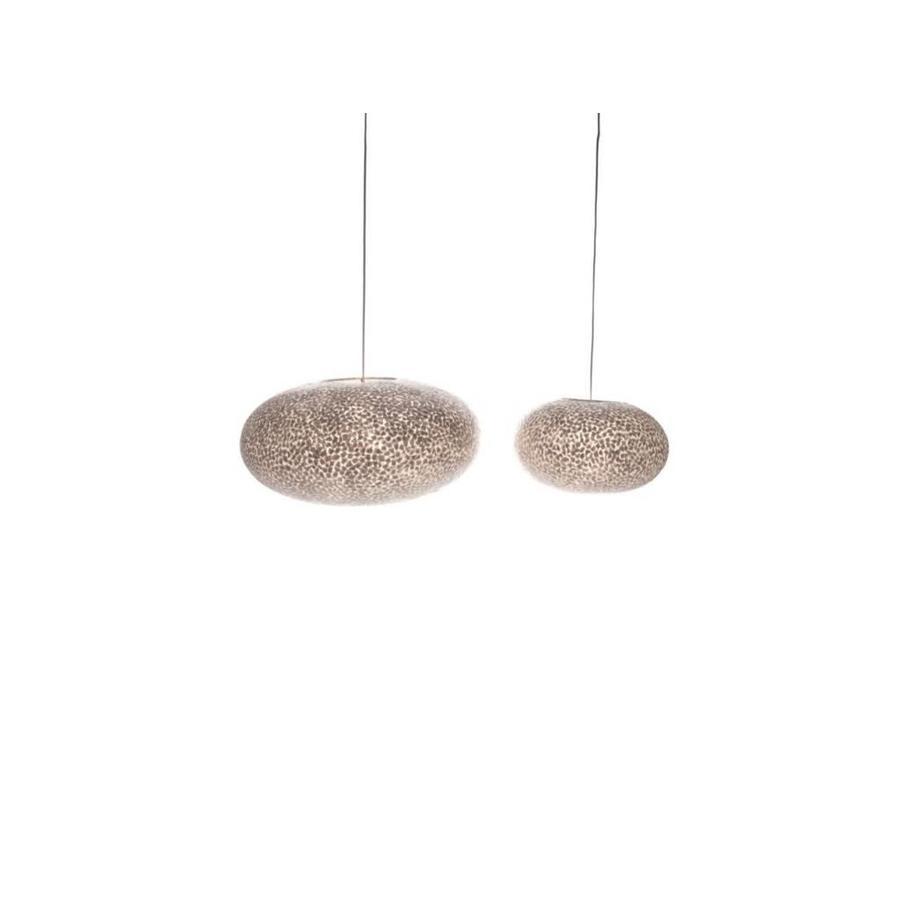 Villaflor Villaflor schelpenlamp - Wangi White - hanglamp - UFO - Ø 60 cm