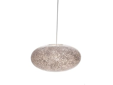 Villaflor Schelpenlamp - Wangi White - Hangende UFO - Ø 60 cm