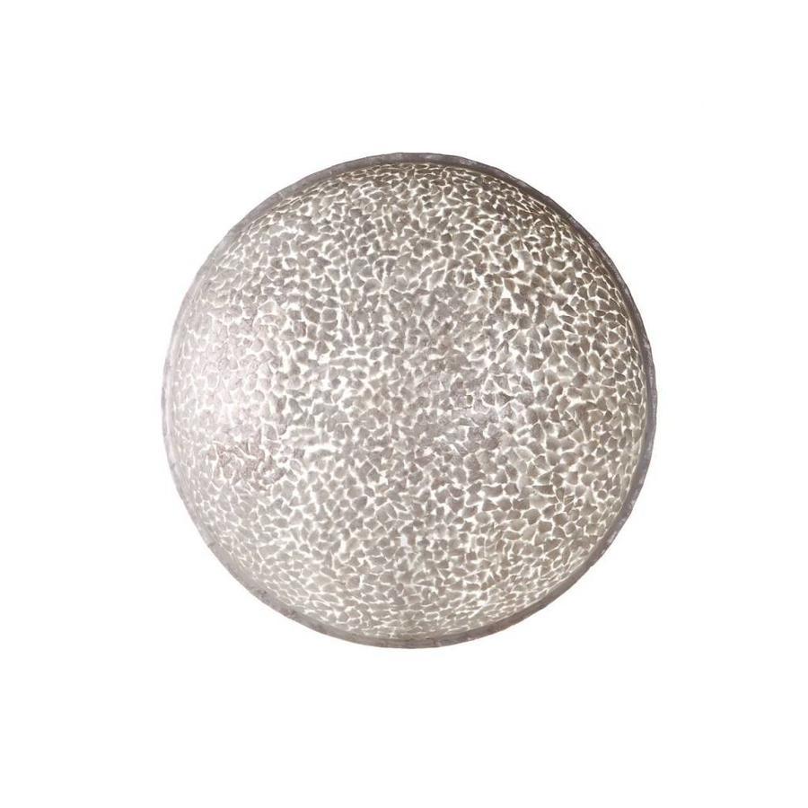 Villaflor Villaflor schelpenlamp - Wangi White - wand- of plafondlamp - Moon - Ø 60 cm