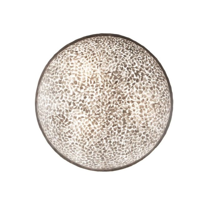 Schelpenlamp - Wangi White - Moon - Ø 85 cm