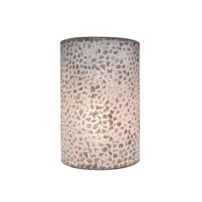 Villaflor schelpenlamp - Wangi White - wandlamp - Rectangle klein