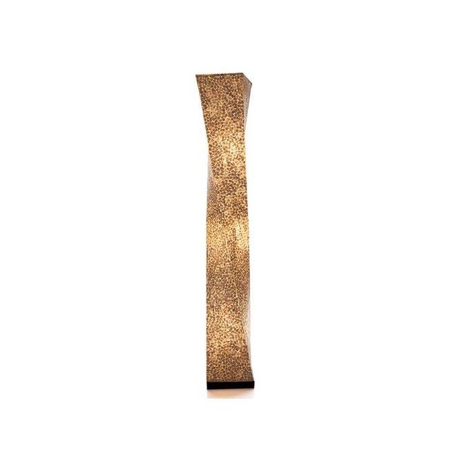 Villaflor schelpenlamp - Wangi White - vloerlamp - Twisty - 150 cm