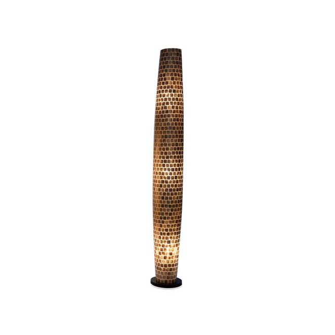 Villaflor schelpenlamp - Moni Gold - vloerlamp, Apollo 200 cm