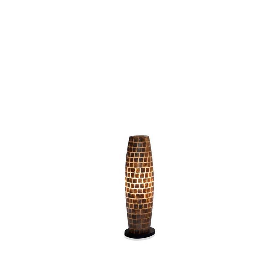 Villaflor Villaflor schelpenlamp - Moni Gold - vloerlamp - Apollo - 70 cm